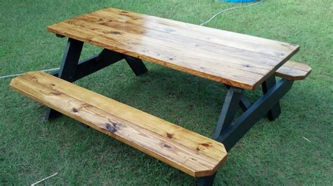 how to finish a table top with polyurethane another way to finish a picnic table clear polyurethane