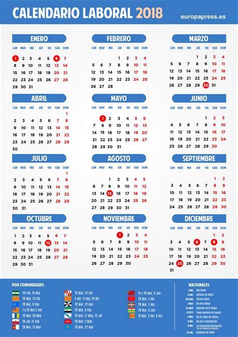 Calendario Laboral 2018 Mexico Los Diez Festivos Calendario Laboral 2018 Que