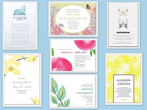 Summer Theme Wedding Invitations by 10 Chic Ideas For A Summer Wedding Theme