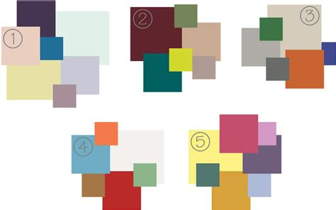 colour trends vote below and tell us what 2012 color palettes you like