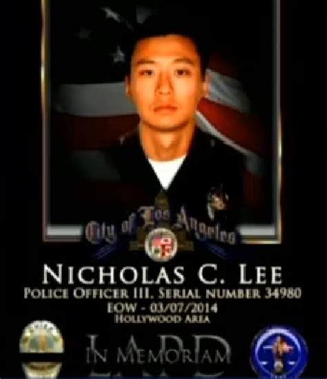 lee nicholas asam news cbs la funeral thursday for korean american