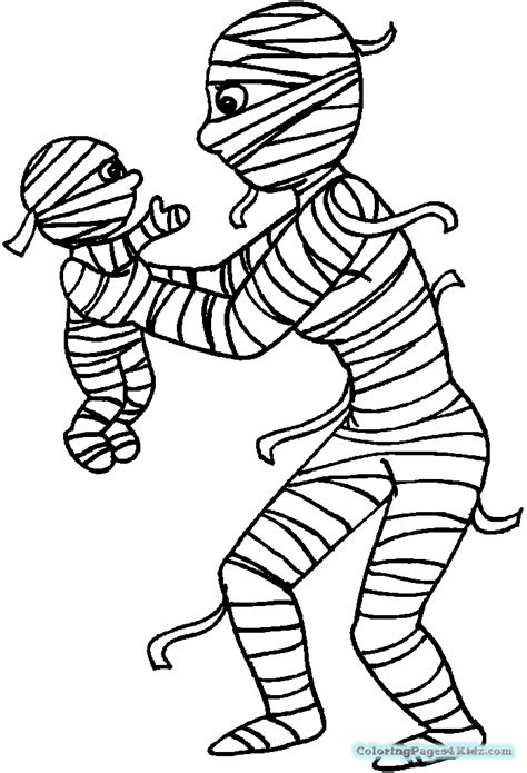 halloween coloring pages mummy cute halloween mummy coloring pages coloring pages for kids