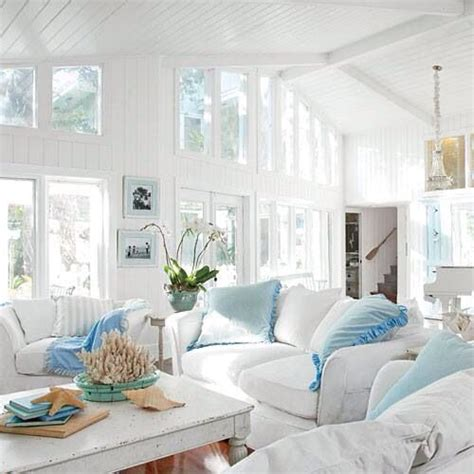 dream beach cottage with neutral coastal decor home bright and beachy great room coastal nautical decor