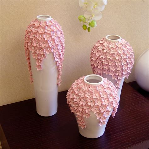 Handmade Flower Vases - modern living room decorated ceramic vase ornaments home