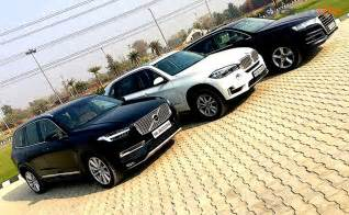 Bmw Vs Audi Comparison Review Audi Q7 Vs Bmw X5 Vs Volvo Xc90 Ndtv
