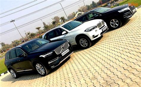 Bmw X5 Vs Audi Q7 by Comparison Review Audi Q7 Vs Bmw X5 Vs Volvo Xc90 Ndtv