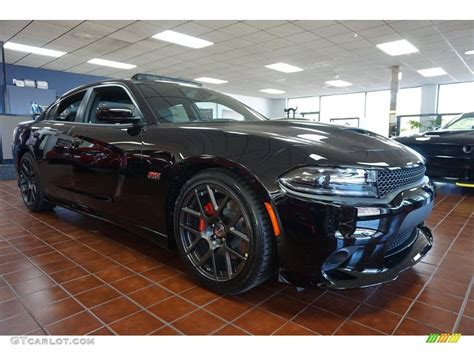 black charger with interior 2016 pitch black dodge charger r t pack 109503875