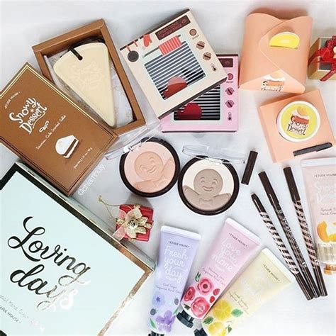 Etude House Dijamin Murah etude house snowy dessert collection 2015