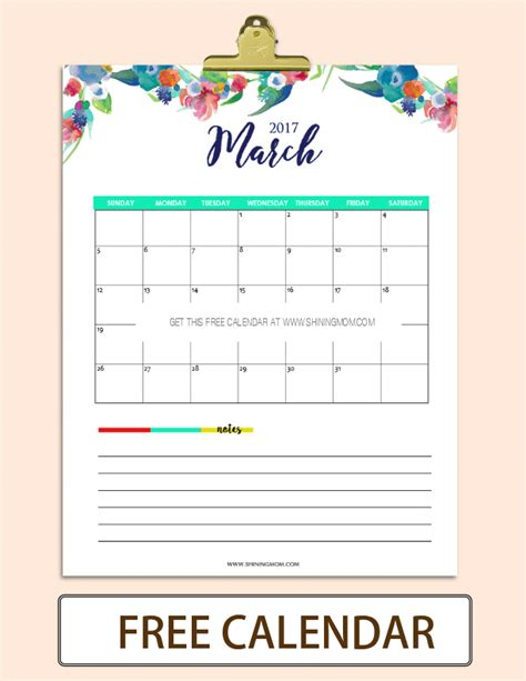 wral printable recipes shining mom calendar calendar template 2016