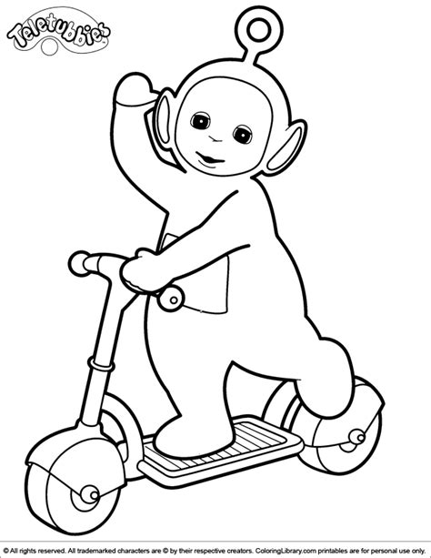 Teletubbies Coloring Pages by Teletubby Coloring Pages Coloring Home