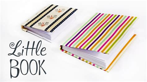 How To Make A Tiny Book Out Of Paper - how to make a paper book diy paper book paper