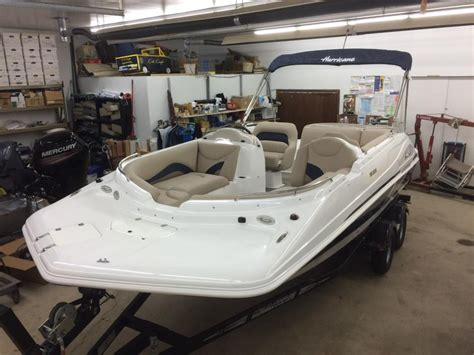 hurricane boats for sale mn hurricane deck boat and trailer boats for sale in deerwood