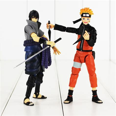 Figure Shippuden Large Size Pack Tinggi 20 Cm best 14cm anime shippuden figuart uzumaki uchiha sasuke figure with