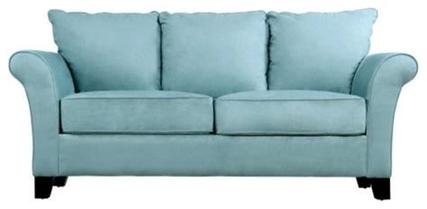 Blue Microfiber Sofa by Blue Microfiber Sofa Images Frompo