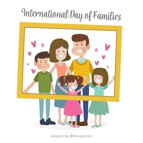 Happy Family Cards Templates by Buona Giornata Foto E Vettori Gratis