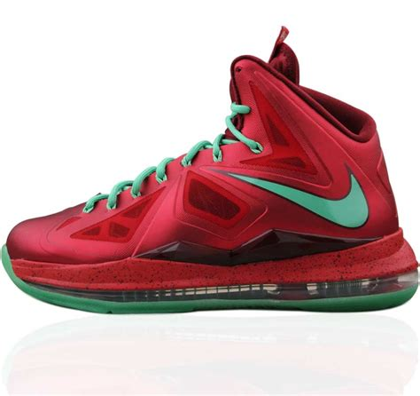 lebron nike basketball shoes nike lebron x chriamas basketball shoes