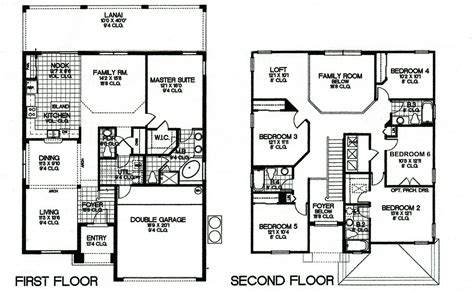 two floor plan http watersongdreamvilla com floor plans