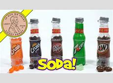 Jelly Belly Candy Pop Bottles - Orange & Grape Crush, 7-UP ... Now And Later Candy Flavors
