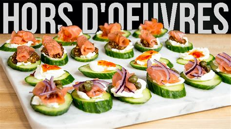 classic hors d oeuvres the starving chef blog
