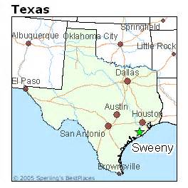 map of sweeny best places to live in sweeny