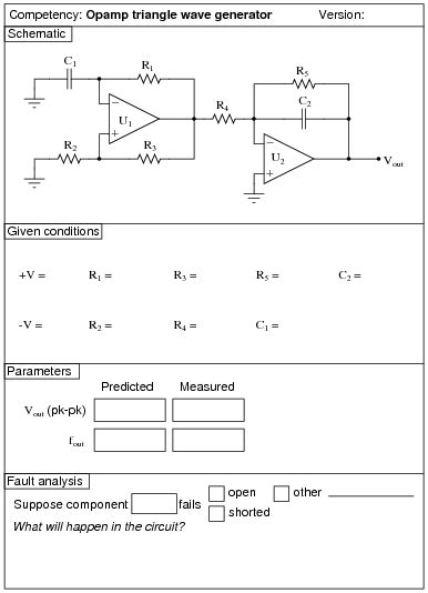 integrated circuit worksheet performance based assessments for analog integrated circuit competencies analog integrated