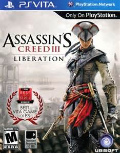 assassin s creed iii liberation 2014 playstation 3 box