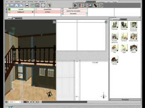 tutorial 3d home design by livecad 3d home design by livecad tutorials 10 balustrade youtube