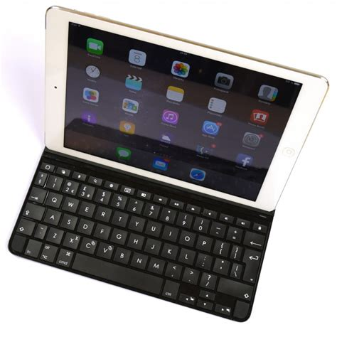 Keyboard Logitech Ultrathin recenze logitech ultrathin keyboard cover for air mobilenet cz