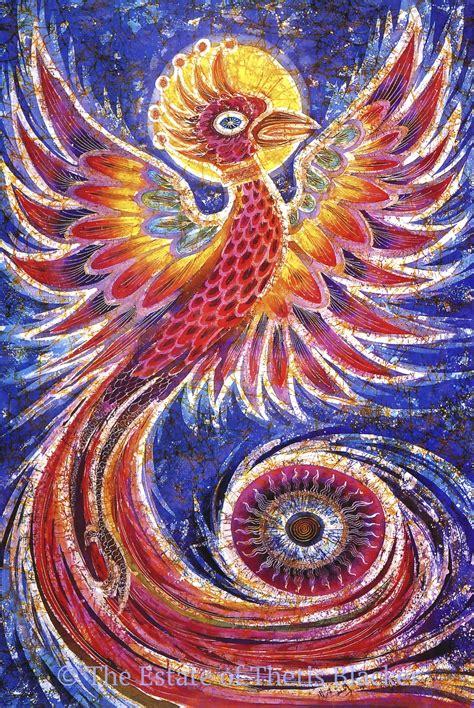 design batik phoenix batik artist thetis blacker the batik route
