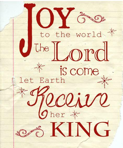 printable version of joy to the world joy to the world christmas printable natal pinterest