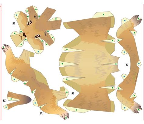 prairie dog template paper craft templates pinterest