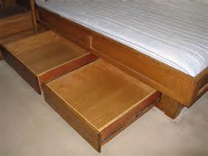 pdf diy plans king bed frame with drawers plans