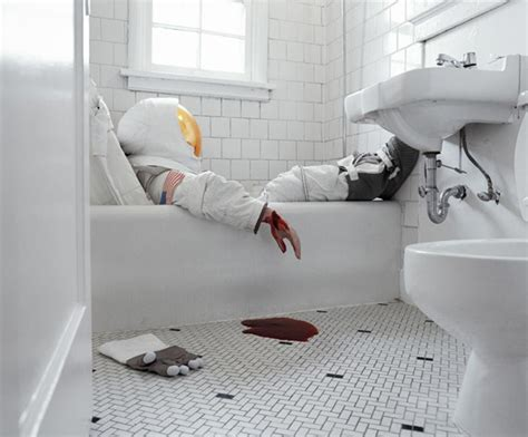 slitting your wrists in the bathtub when an astronaut loses space 10 killer photos of