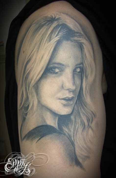 britney spears tattoos by mcr on deviantart