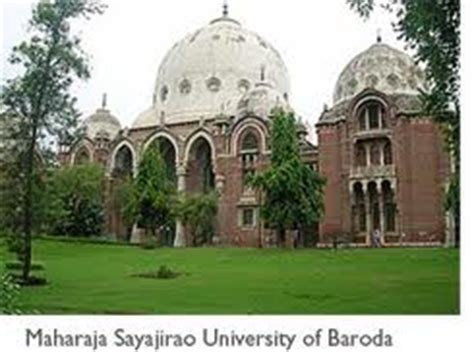 Part Time Mba Colleges In Vadodara by Msu Baroda Admissions 2018 19 Courses Time Table Date