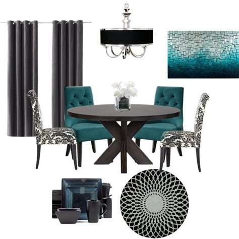 Teal And Gray Curtains Decorating 25 Best Ideas About Teal Dining Rooms On Pinterest Teal Dining Room Paint Teal Green Color