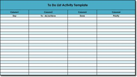 Free To Do List Templates With Guide To Make Your Own To Do List Template Docs