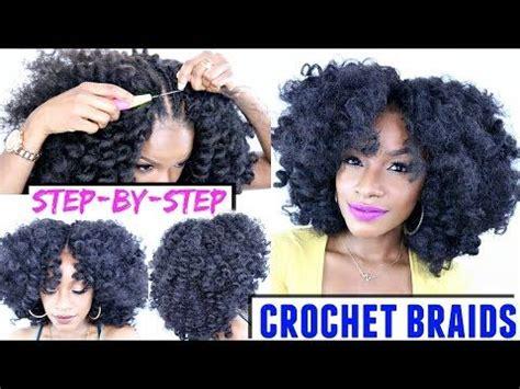 how to crochet braids video tutorial with marley hair how to crochet braids step by step tutorial crochet braid