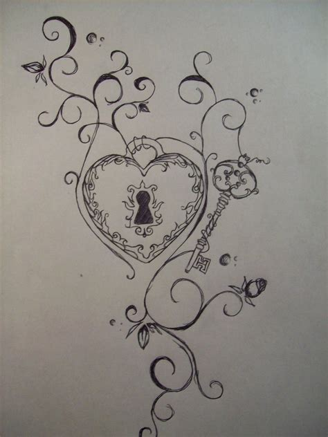 key to my heart tattoo discover and save creative ideas