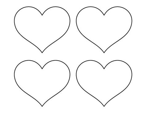 heart template templates and heart patterns on pinterest