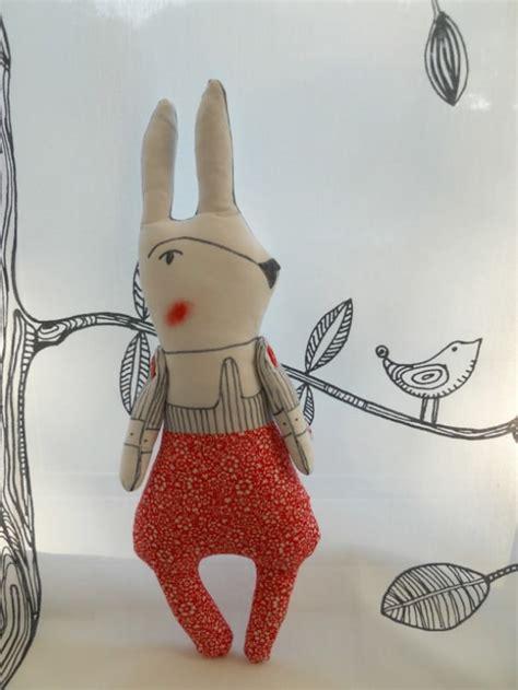 Handmade Rabbit - plush bunny handmade