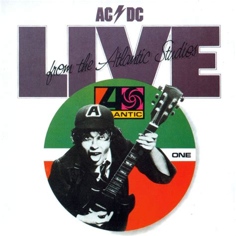 Live From The by Car 225 Tula Frontal De Acdc Live From The Atlantic Studios