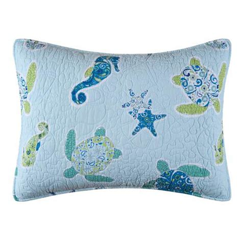 sea turtle bedding imperial coast sea turtle pillow sham