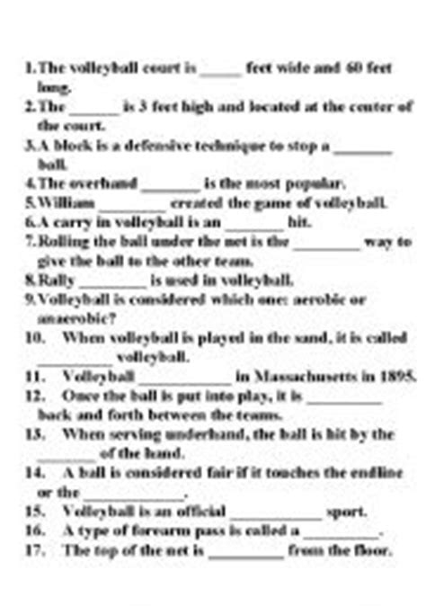 printable volleyball worksheets volleyball worksheets resultinfos