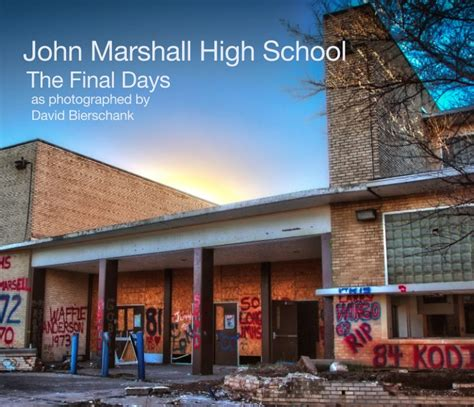john marshall high school  david bierschank blurb books