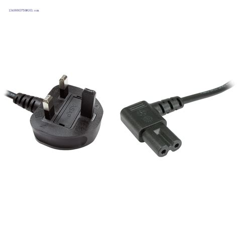 90 Degree Iec Cable by 90 Degree Iec C7 To Uk 3 Pin Mains