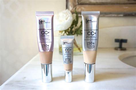 it cosmetics cc cream light review it cosmetics cc cream illumination review beautynow blog