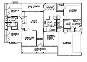 Ranch Floor Plans With Split Bedrooms by 301 Moved Permanently