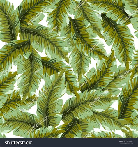 texture leaf pattern amazing banana leaves pattern vector green stock vector