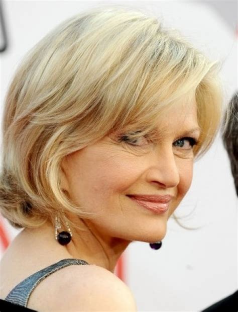 pictures of diane sawyer haircuts diane sawyer blonde chic hairstyle hairstyles weekly